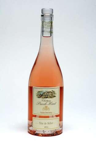 Bottle of Rose wine on Tuesday, May 12, 2015 in Colonie, N.Y. (Lori Van Buren / Times Union) Photo: Lori Van Buren / 00031805A