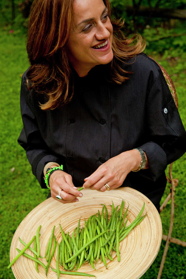Chef Silvia Baldini of New Canaan, Conn., will be among the demonstrators at the Sustainable Food & Farm Expo 2015 on Sunday, May 31, 2015, at Audubon Greenwich in Greenwich, Conn. Local food companies and expert gardeners will be offering tips, demonstrations and tastings. Photo: Contributed Photo / Stamford Advocate Contributed photo