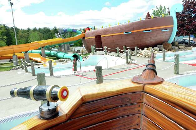 The new Buccaneer Beach waterpark is almost completed on Wednesday, May 13, 2015, at Great Escape in Queensbury, N.Y. (Cindy Schultz / Times Union) Photo: Cindy Schultz / 00031796A