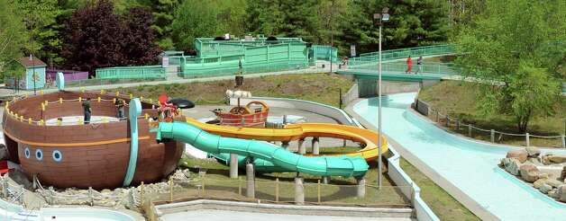 The new Buccaneer Beach waterpark is almost complete on Wednesday, May 13, 2015, at Great Escape in Queensbury, N.Y. (Cindy Schultz / Times Union) Photo: Cindy Schultz / 00031796A