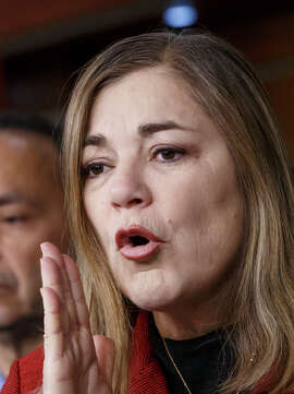 Rep. Loretta Sanchez, left, will run against Attorney General Kamala Harris in the primary.