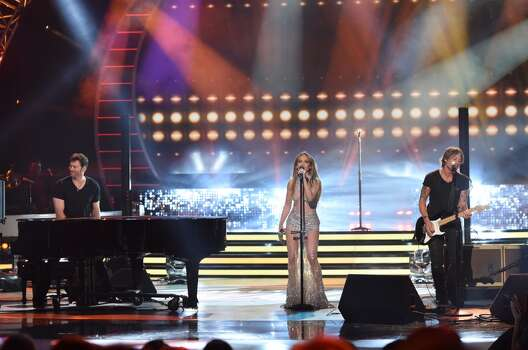AMERICAN IDOL XIV: L-R: Harry Connick Jr., Jennifer Lopez and Keith Urban perform during the AMERICAN IDOL XIV season Finale airing Wednesday May, 13 (8:00-10:06 PM ET/PT) on FOX. CR: Frank Micelotta / FOX © 2105 FOX Broadcasting Co.