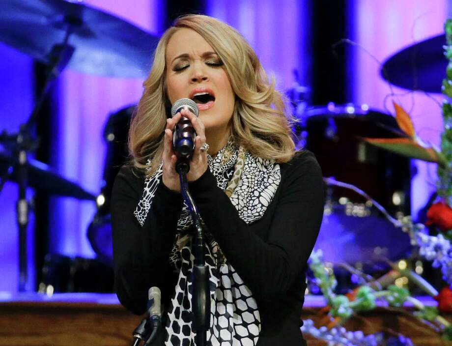 """Carrie Underwood, October 27, Times Union Center.The country mega-star plans a date for her """"Storytelling"""" Tour in Albany. Photo: Mark Humphrey / AP"""