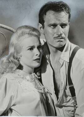 THIS IS A HANDOUT IMAGE. PLEASE VERIFY RIGHTS. COOLD-B-08FEB02-DD-HO TOUCH OF EVIL STARS JANET LEIGH AND CHARLTON HESTON  Ran on: 07-17-2011 Janet Leigh and Charlton Heston in &quo;Touch of Evil,&quo; playing today and Monday at the Red Vic.