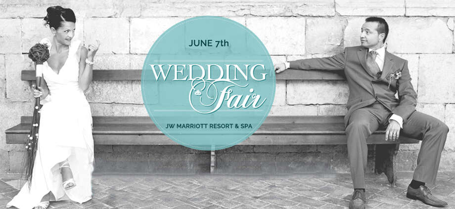 Brides to be, don't miss the Wedding Fair on Sunday, June 7 at the JW Marriott Resort & Hotel! This exceptional event will feature the hottest wedding trends for 2015 and showcase the best wedding vendors in San Antonio. For more information, visit www.weddingfairshow.com Photo: Courtesy Of Wedding Fair