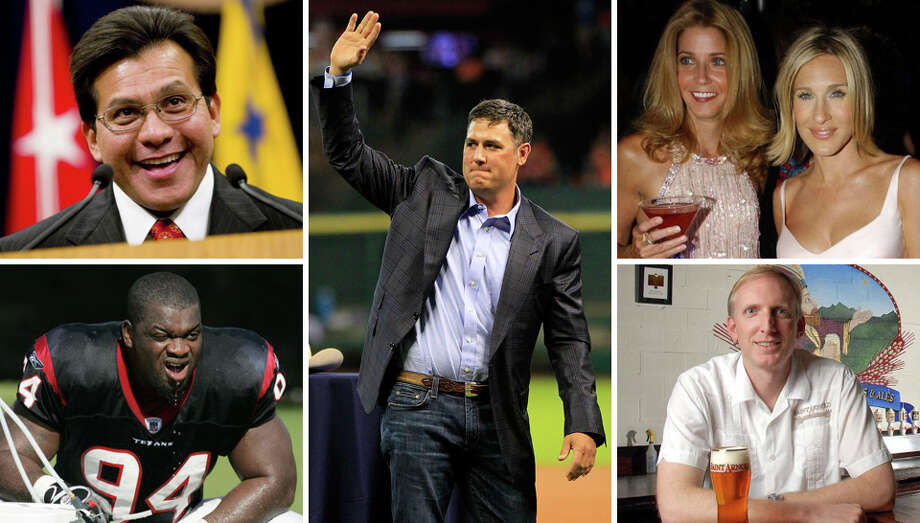 "Famous former Rice University students(Clockwise from bottom left) Former Houston Texan N.D. Kalu, former U.S. Attorney General Alberto Gonzales, retired Astros first baseman Lance Berkman, ""Sex & the City"" creator Candace Bushnell (seen with actress Sarah Jessica Parker), and Saint Arnold Brewing Company cofounder Brock Wagner are all former students of Rice University.Check out what other famous figures once called Rice home ... Photo: Houston Chronicle Composite"