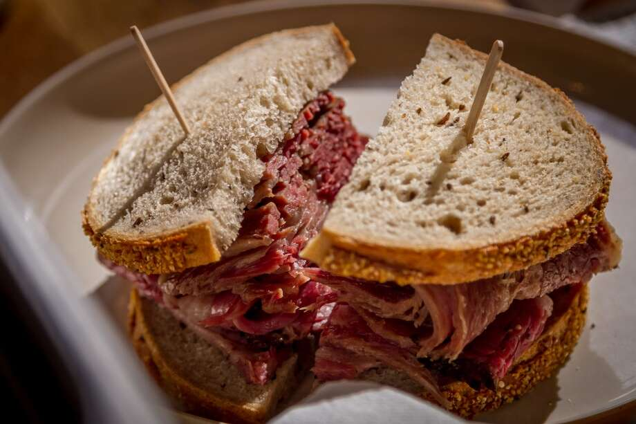Pastrami Sandwich by Wise Sons Photo: John Storey, Special To The Chronicle
