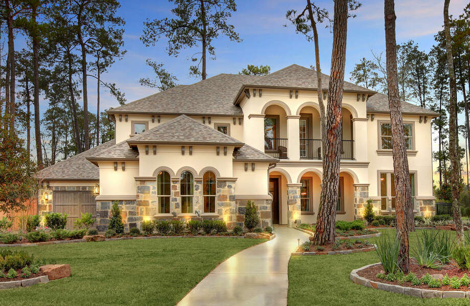 Drees Custom Homes made its debut in Houston last fall. It has a model home open in Woodtrace in Tomball, above, and has announced plans for other developments. Photo: Courtesy Drees Custom