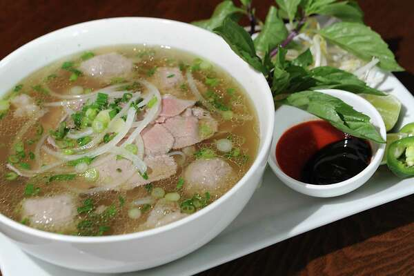 Saigon Pearl special pho Vietnamese noodle soup at Saigon Pearl restaurant on Friday, May 8, 2015 in Albany, N.Y. (Lori Van Buren / Times Union)