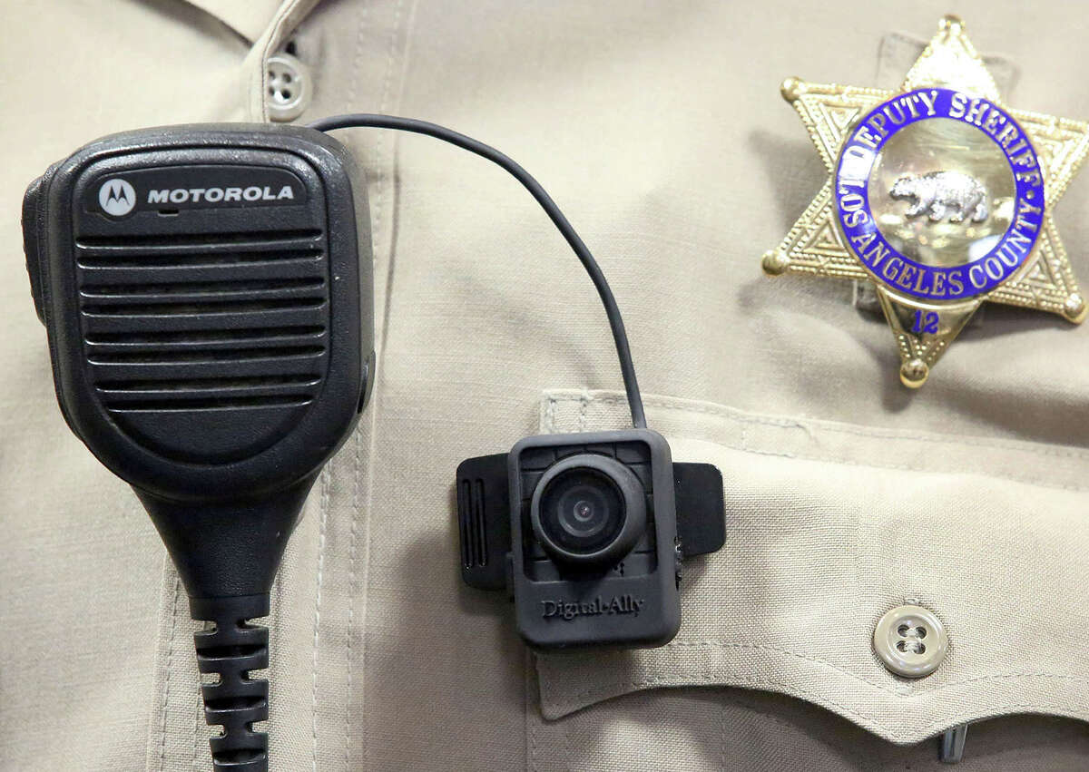 Body cameras Most police body cameras are small devices that clip to an officer's uniform, however Taser also makes a model which clips to a pair of glasses. The cameras are inherently different from publicly available video cameras in that the user cannot delete or edit footage once it has been taken.
