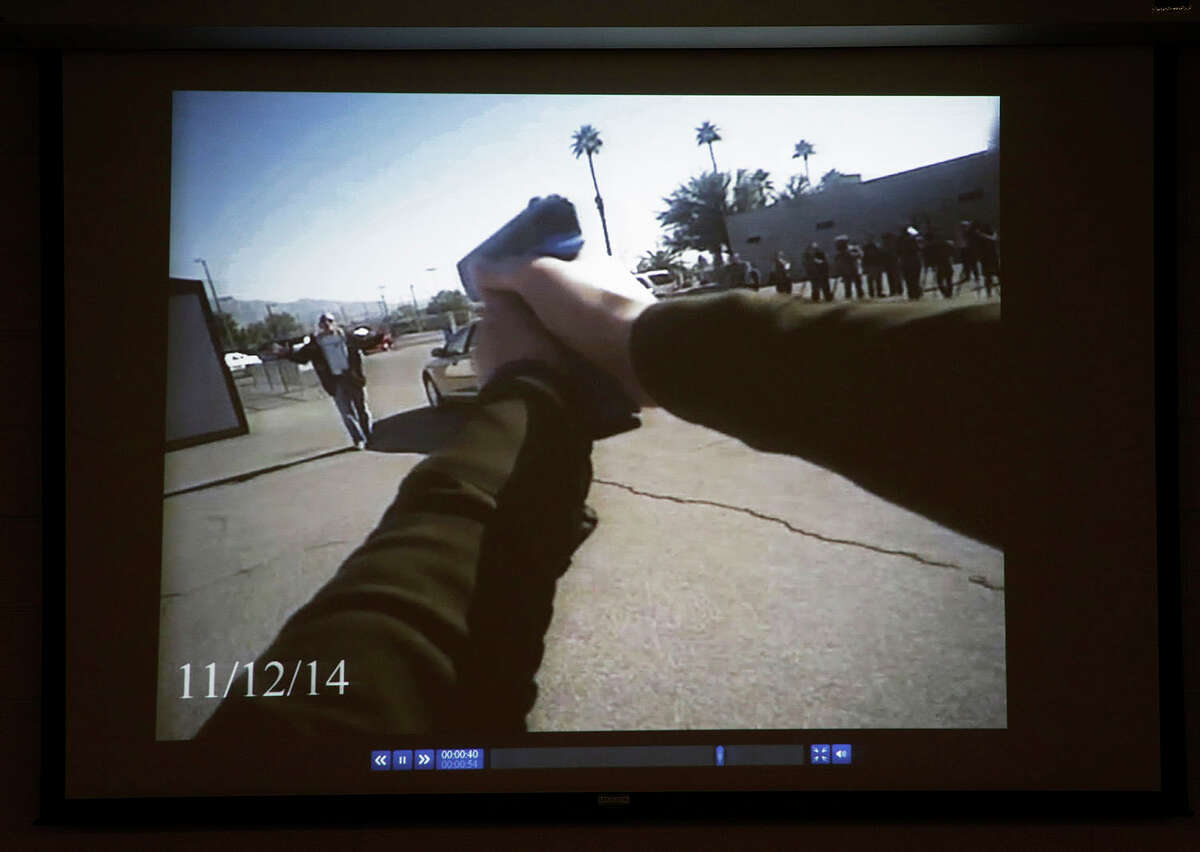 Evidence Video footage recorded by a police body camera will be downloaded to a central computer system (or hosted in a cloud) and be retained for future use. If a member of the public lodges a complaint against an officer, or in the event of police use of force, the footage can be used to support or refute witness accounts.