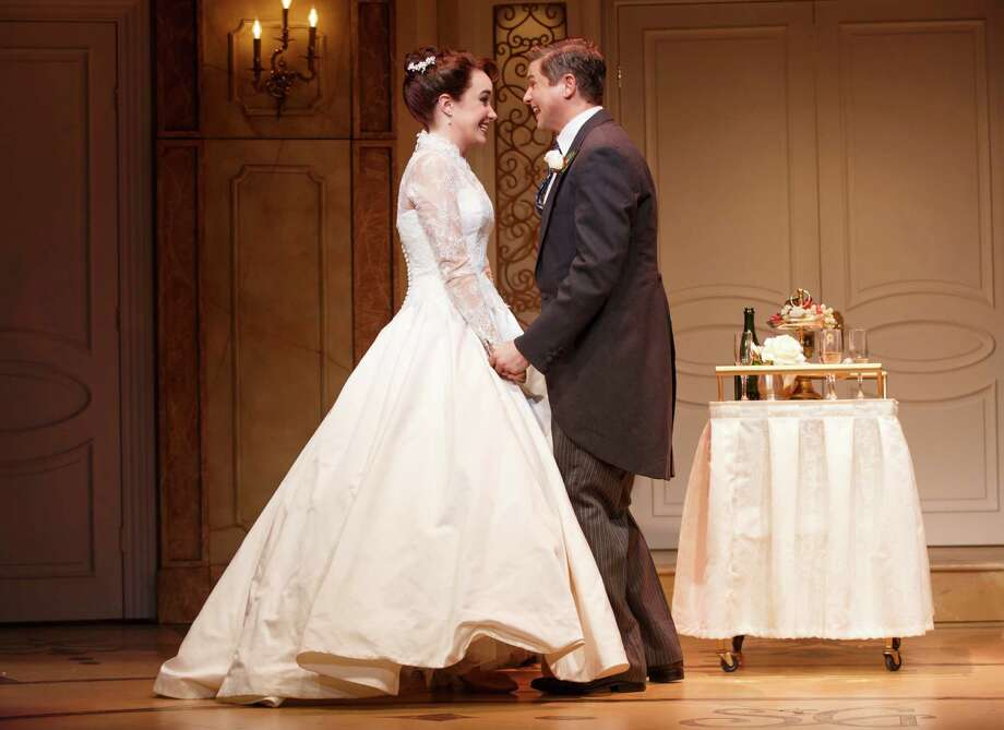 "A Norwalk couple will be married onstage at the Brooks Atkinson Theatre in Manhattan after the May 30 matinee of the Broadway musical ""It Shoulda Been You"" featuring Sierra Boggess and David Burka. Photo: Contributed Photo / Connecticut Post Contributed"