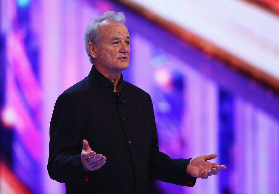 SHANGHAI, CHINA - APRIL 15:  Actor Bill Murray onstage announces the Laureus World Sportsman of the Year award during the 2015 Laureus World Sports Awards show at the Shanghai Grand Theatre on April 15, 2015 in Shanghai, China.  (Photo by Ian Walton/Getty Images for Laureus) Photo: Ian Walton, Getty Images For Laureus