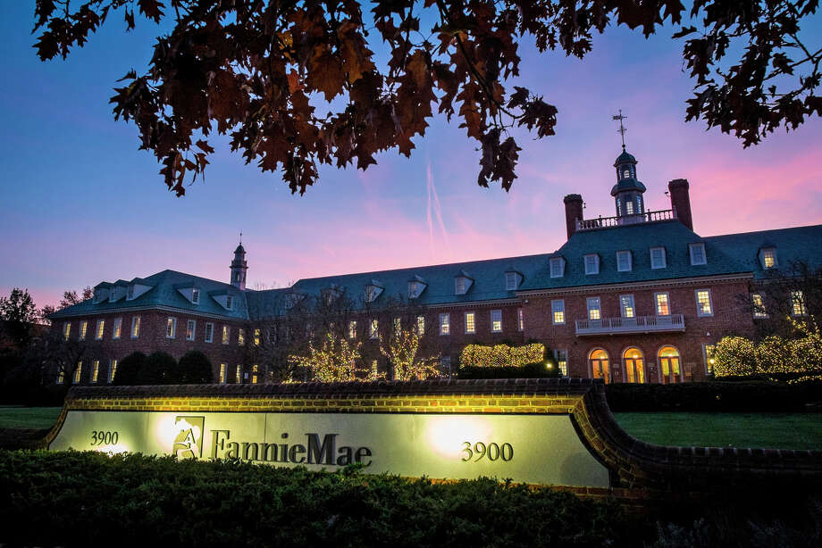 Fannie Mae's headquarters in Washington looks quite a bit nicer than the homes it's accused of neglecting. Photo: J. David Ake / Associated Press / AP