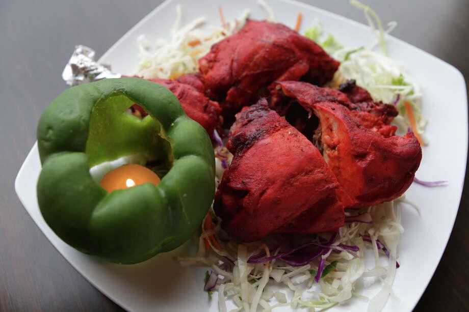 Tandoori chicken at Biryani Pot Photo: Tom Reel /San Antonio Express-News