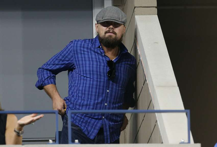 Once rail-thin, Leonardo DiCaprio has gone full dad bod. He did, however, trim down for