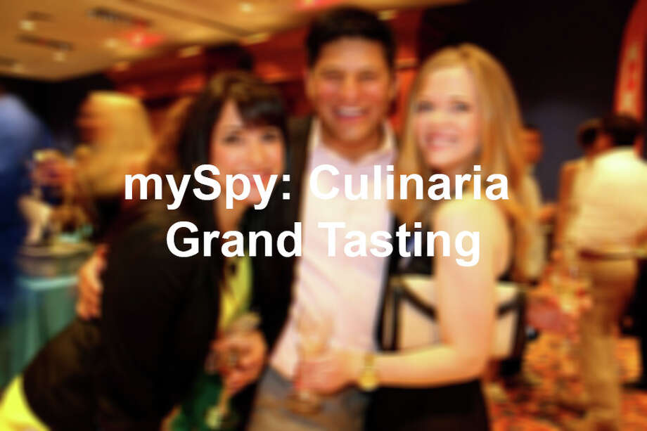 The Culinaria Grand Tasting at The Grotto at the Henry B. Gonzalez Convention Center on Saturday, May 18, 2013. Photo: San Antonio Express-News