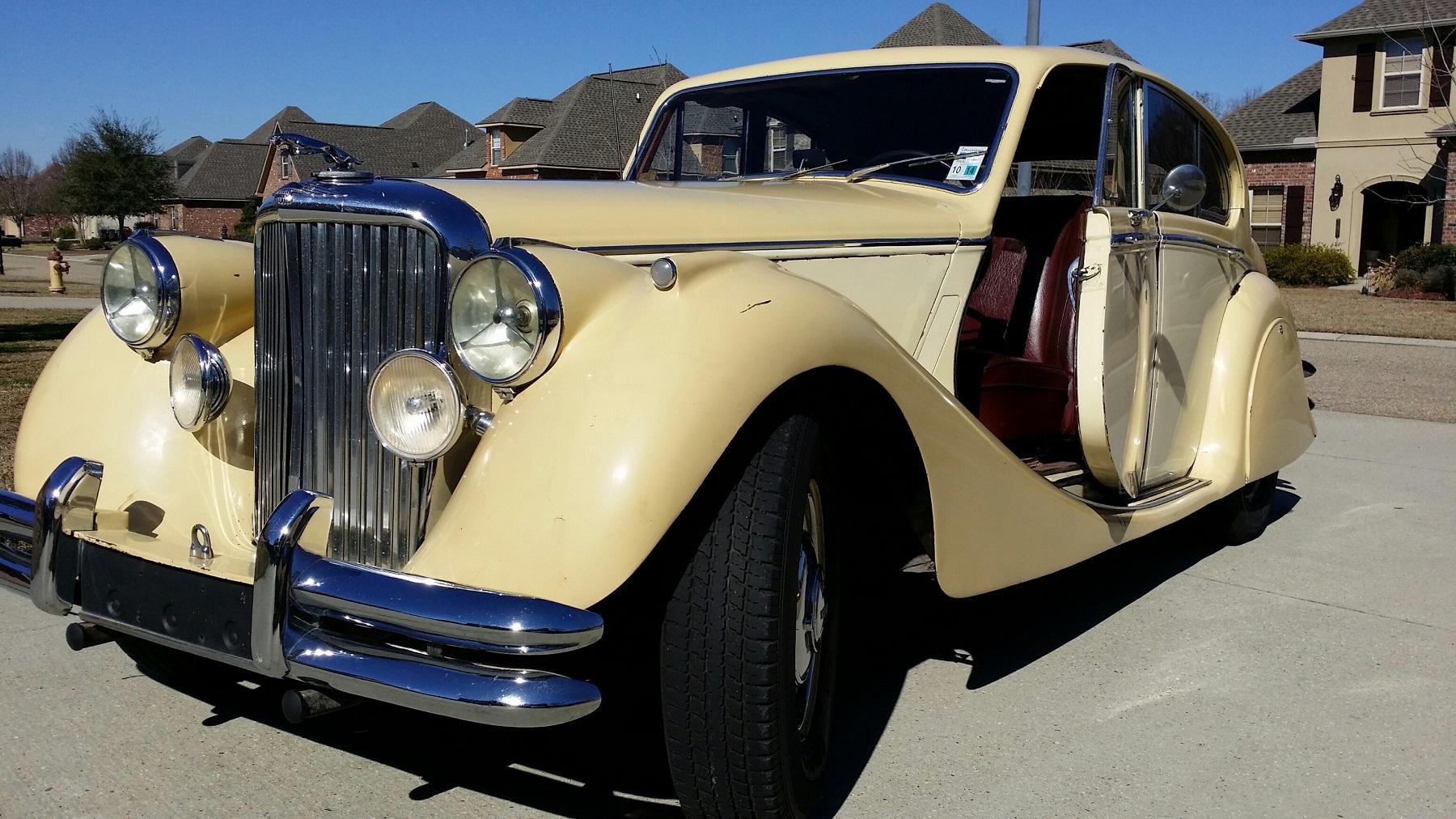 1951 Jaguar Mark V Little Girls Dream Car Found In Seattle