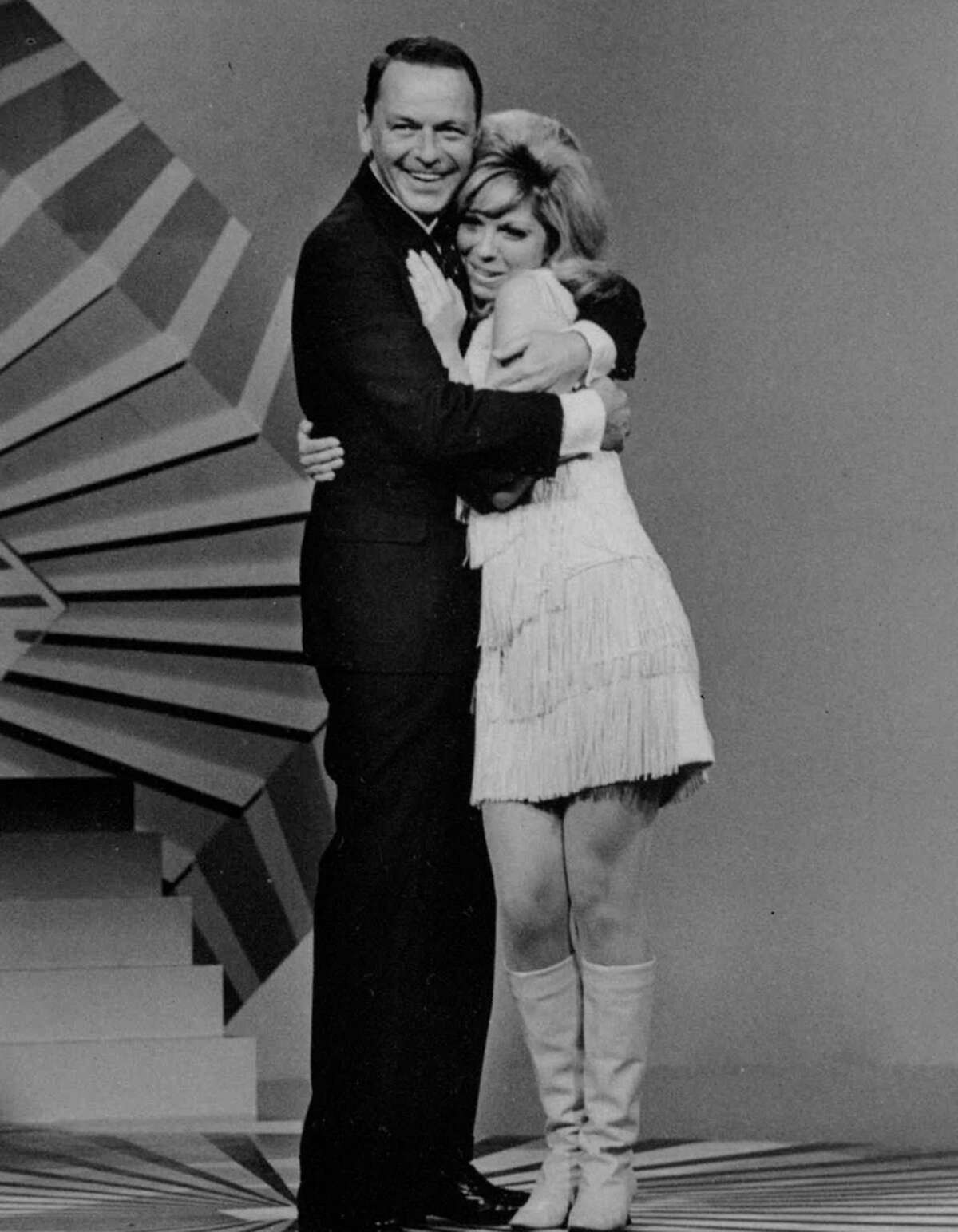 """Frank and Nancy Sinatra recorded """"Something Stupid"""" together in 1967."""