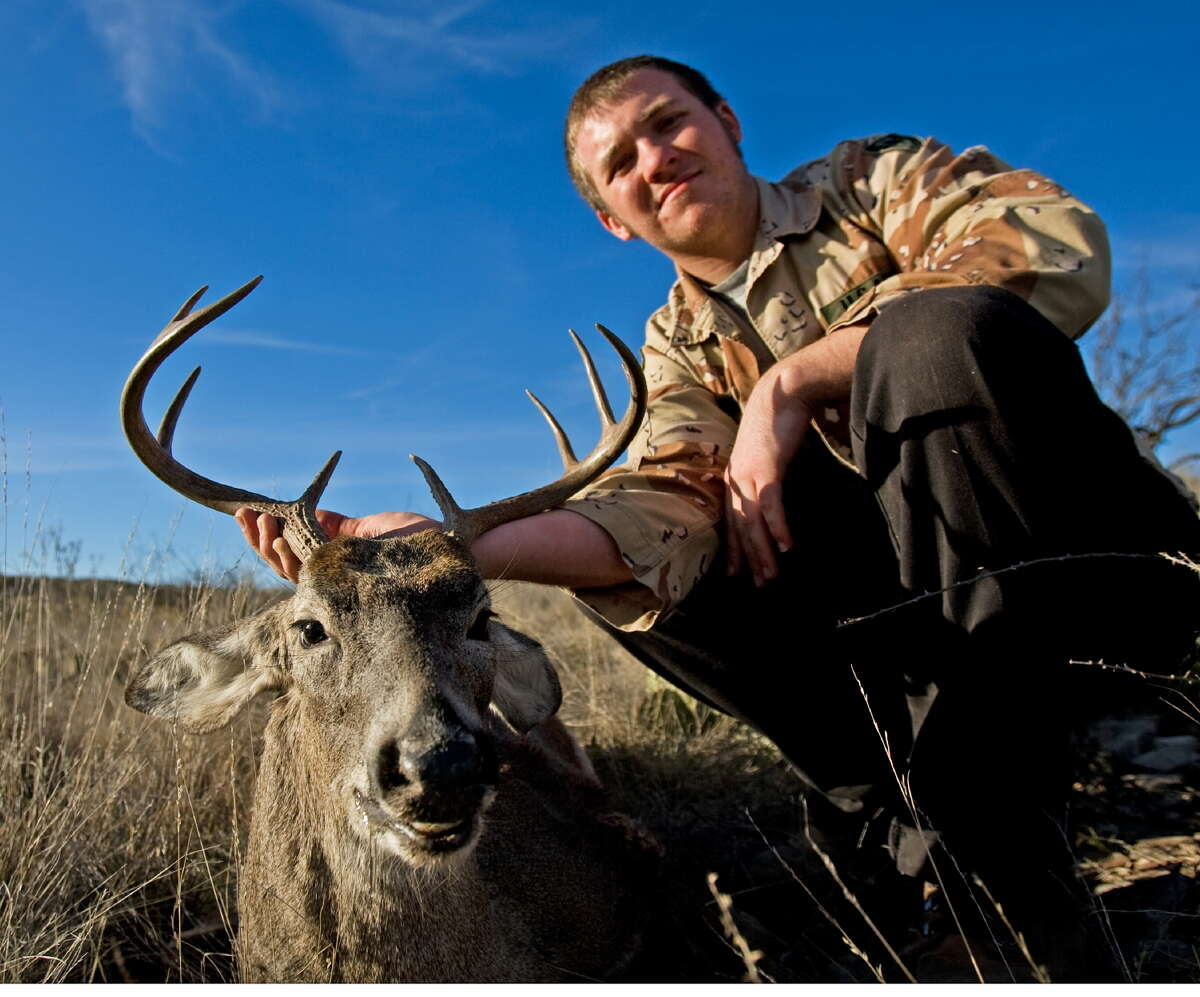 Hunting white-tailed deer is a popular across the state, and while most land is privately owned, the Texas Parks & Wildlife Department offers hunts on public lands.