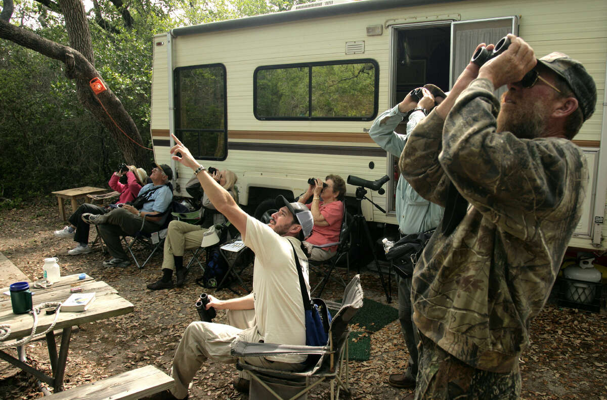 State parks offer fishing, swimming, hiking, paddling, biking and camp sites for recreational vehicles, and all birders have to do is step out their door.