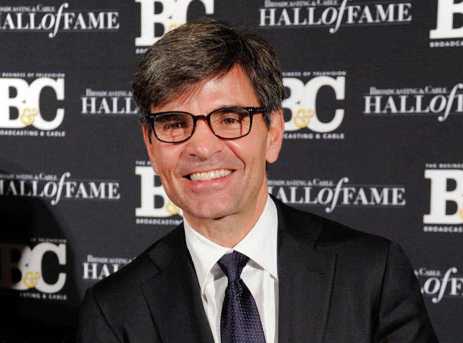 This file photo shows George Stephanopoulos at the 24th Annual Broadcasting and Cable Hall of Fame Awards in New York. Stephanopoulos apologized last year for not notifying his employer and viewers about two contributions totaling $50,000 that he made to the Clinton Foundation. Photo: Evan Agostini /Associated Press / Invision