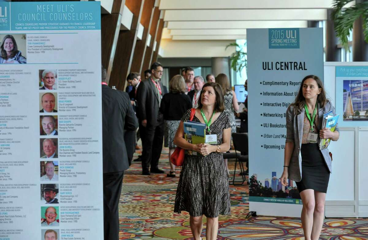 The Urban Land Institute's spring meeting is at the Hilton Americas-Houston downtown.