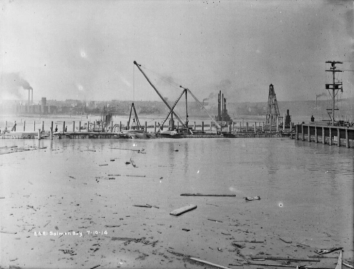 Salmon Bay, pictured July 10, 1914.