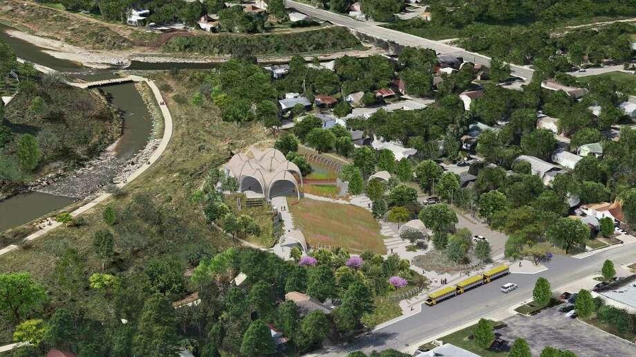 Confluence Park renderings.  Renderings courtesy of San Antonio River Foundation Photo: Renderings Courtesy Of San Anton