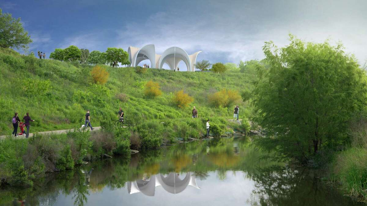 Confluence Park renderings. Renderings courtesy of San Antonio River Foundation