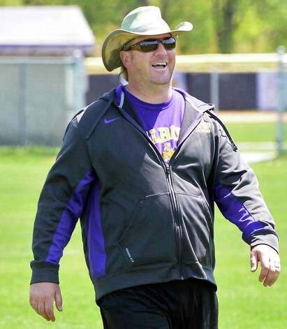 UAlbany lacrosse head coach Scott Marr during practice Thursday May 14, 2015 in Albany, NY.  (John Carl D'Annibale / Times Union) Photo: John Carl D'Annibale / 00031849A