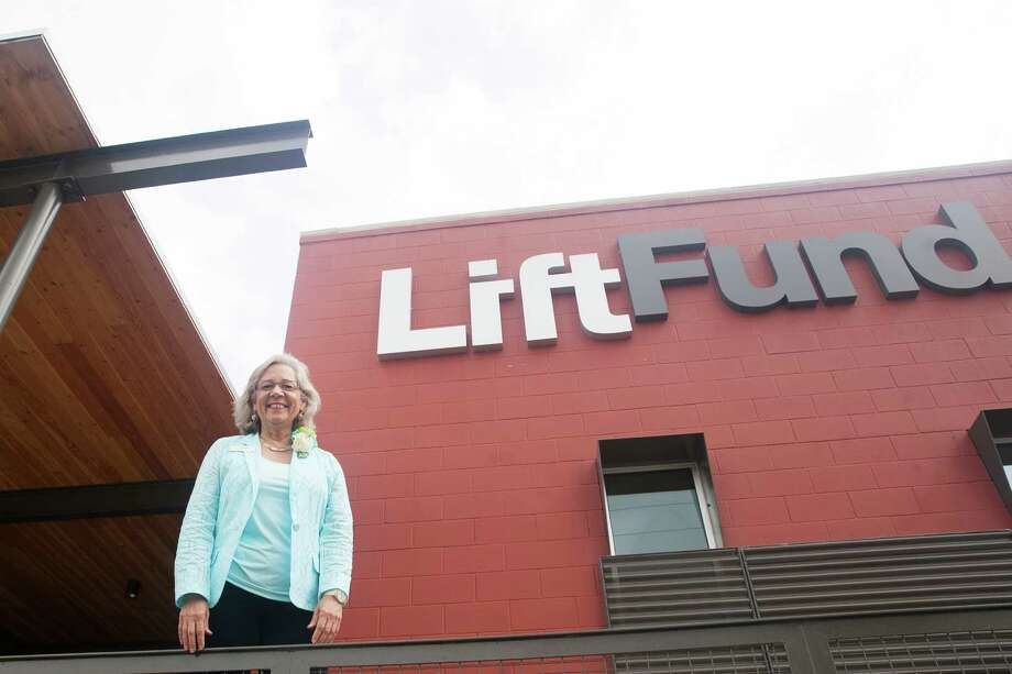CEO and President Janie Barrera announced during Thursday's opening ceremony that LiftFund was adding five states to its territory. Photo: Julysa Sosa /For The San Antonio Express-News / Julysa Sosa For the San Antonio Express-News
