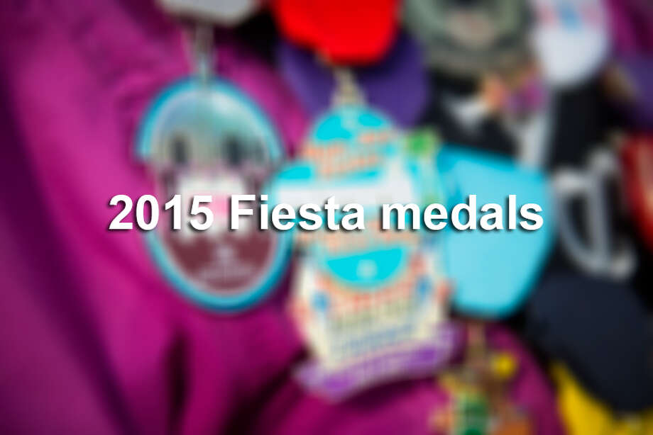 Click ahead to see some of the dozens of  Fiesta medals that were available during Fiesta San Antonio 2015. Photo: Matthew Busch, Matthew Busch/For The San Antonio Express-News / © Matthew Busch