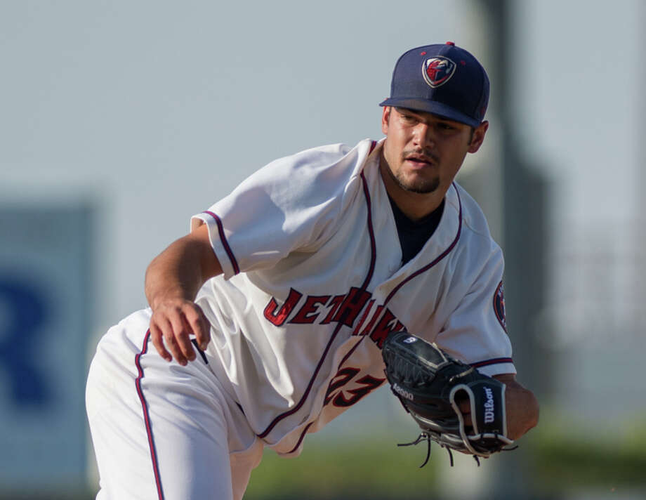 Astros minor league pitcher Lance McCullers Jr. with the High Class A Lancaster JetHawks in 2014 Photo: Ross Way Photography / Lancaster JetHawks