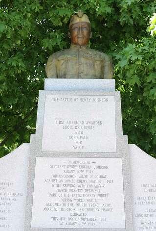 The Battle of Henry Johnson in Washington Park on Thursday May 14, 2015 in Albany, N.Y.  (Lori Van Buren / Times Union) Photo: Lori Van Buren