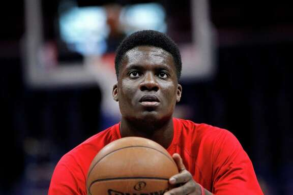 Thought to be a long-term project when drafted last year, Clint Capela has surprised even himself by working his way into the Rockets' rotation.