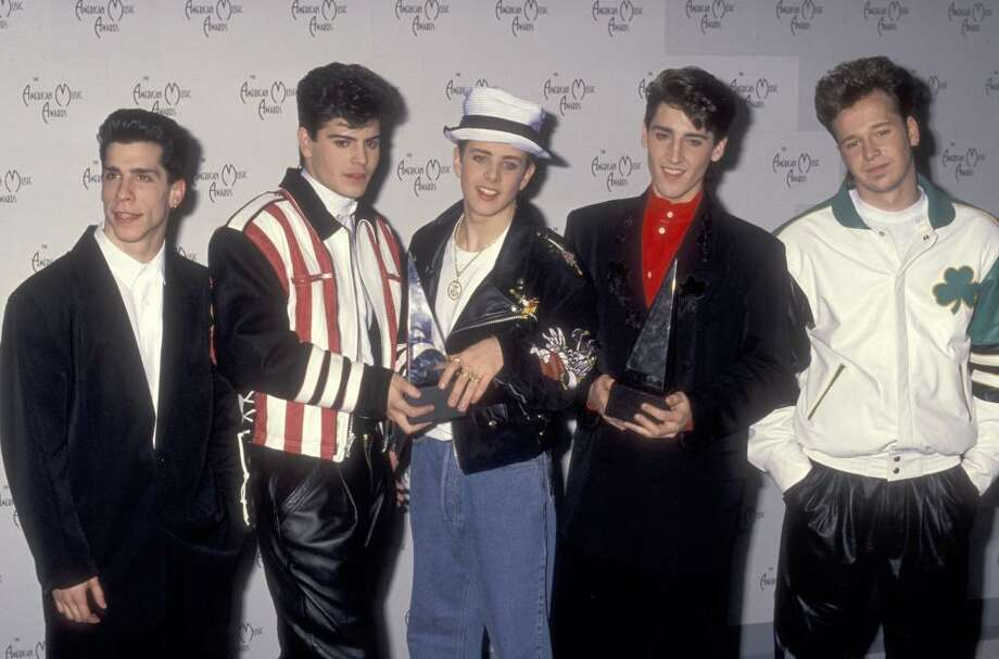 The iHeart80s Party returns for a second year with a packed lineup of classic Reagan-era acts including New Kids on the Block (above), UB40, Rick Astley, Men at Work's Colin Hay, Starship, Eddie Money and Night Ranger. Photo: Ron Galella, Ltd., WireImage
