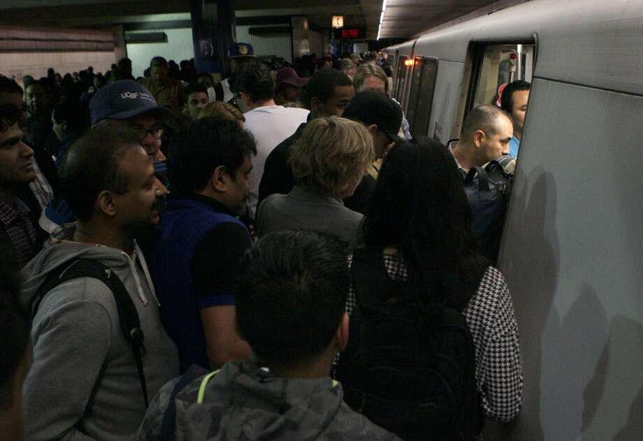 Who are the worst BART passengers you encounter every day?The One Who Won't Scoot Further into the TrainThere is so much space in there! Acres of space! We could rent that space as a studio apartment for $3,000! Why won't you move down?? Photo: Santiago Mejia, The Chronicle