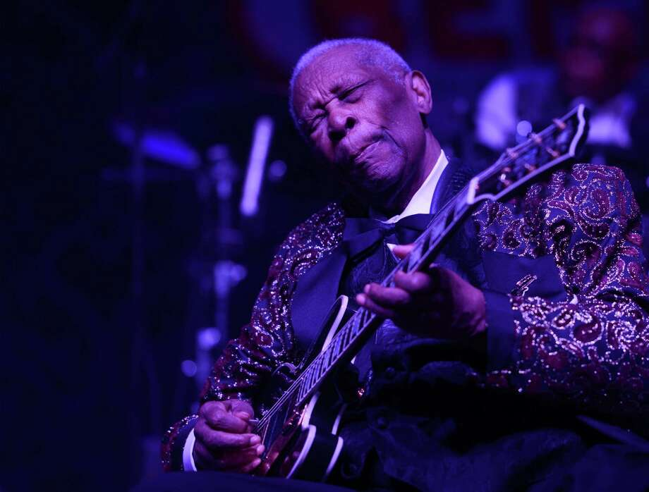B.B. King performs at the 2014 Big Blues Bender at the Rivera Hotel & Casino. Keep clicking for a look at this legend's long career.  Photo: Denise Truscello, Getty Images For PR Plus / 2014 Getty Images
