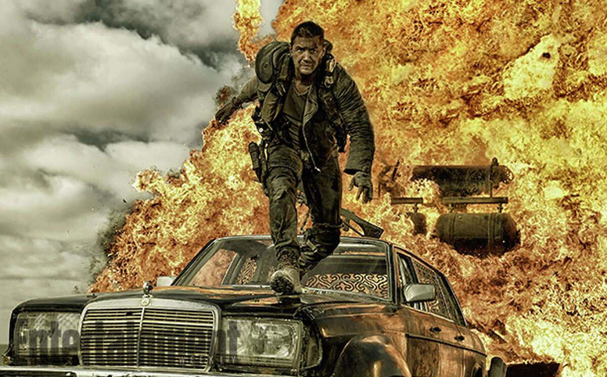 """Tom Hardy portays Max in the new movie, """"Mad Max: Fury Road."""""""