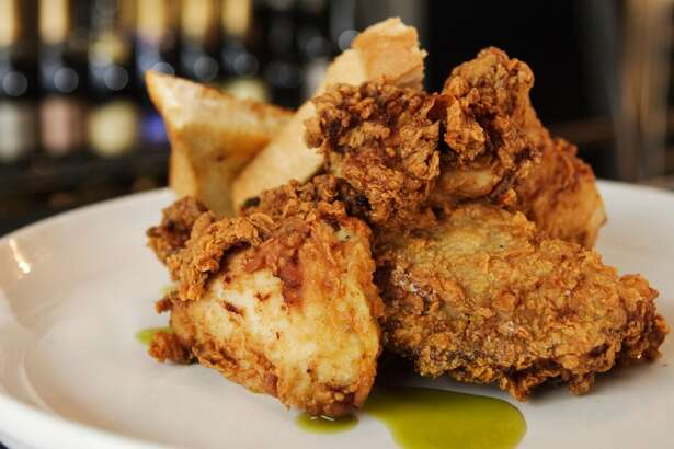 Southern fried chicken from Max's Wine Dive, Houston.