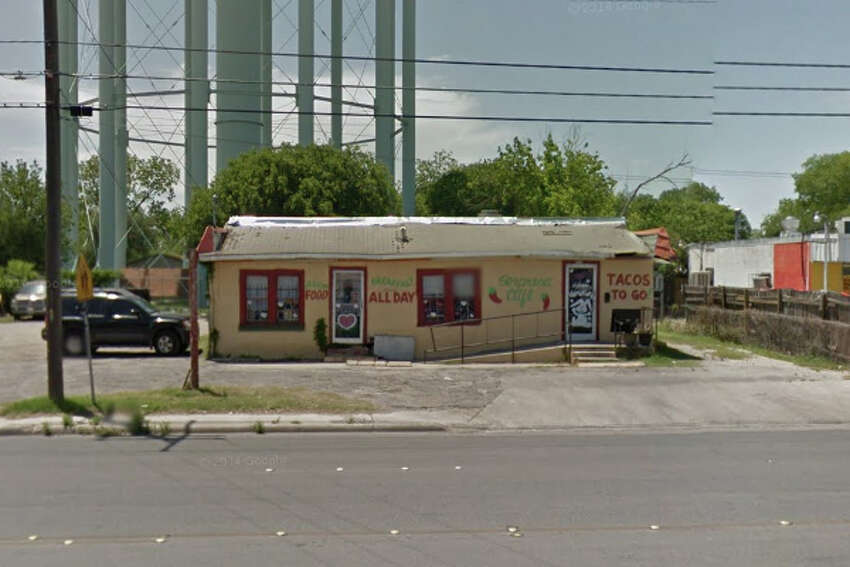 La Sorpresa Café: 3213 Pleasanton Road, San Antonio, TX 78221 Date: 07/17/2017 Score: 80 Highlights: Food not held at corrector temperature; bulk foods not labeled properly (flour, sugar, salt, MSG); employee drank beverage from container with removable cap; toxic chemicals not labeled properly; food not protected from cross-contamination; damaged walls, missing floor tiles need to be repaired, paint needed where paint is chipping; weather strip needed between all exits