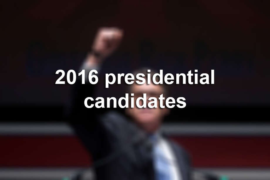 See who has announced a campaign for president Photo: Andrew Harrer, Bloomberg / © 2015 Bloomberg Finance LP