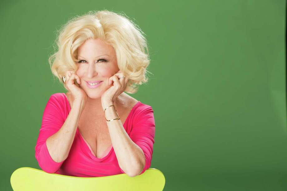 Legendary singer Bette Midler performs in Houston Monday.