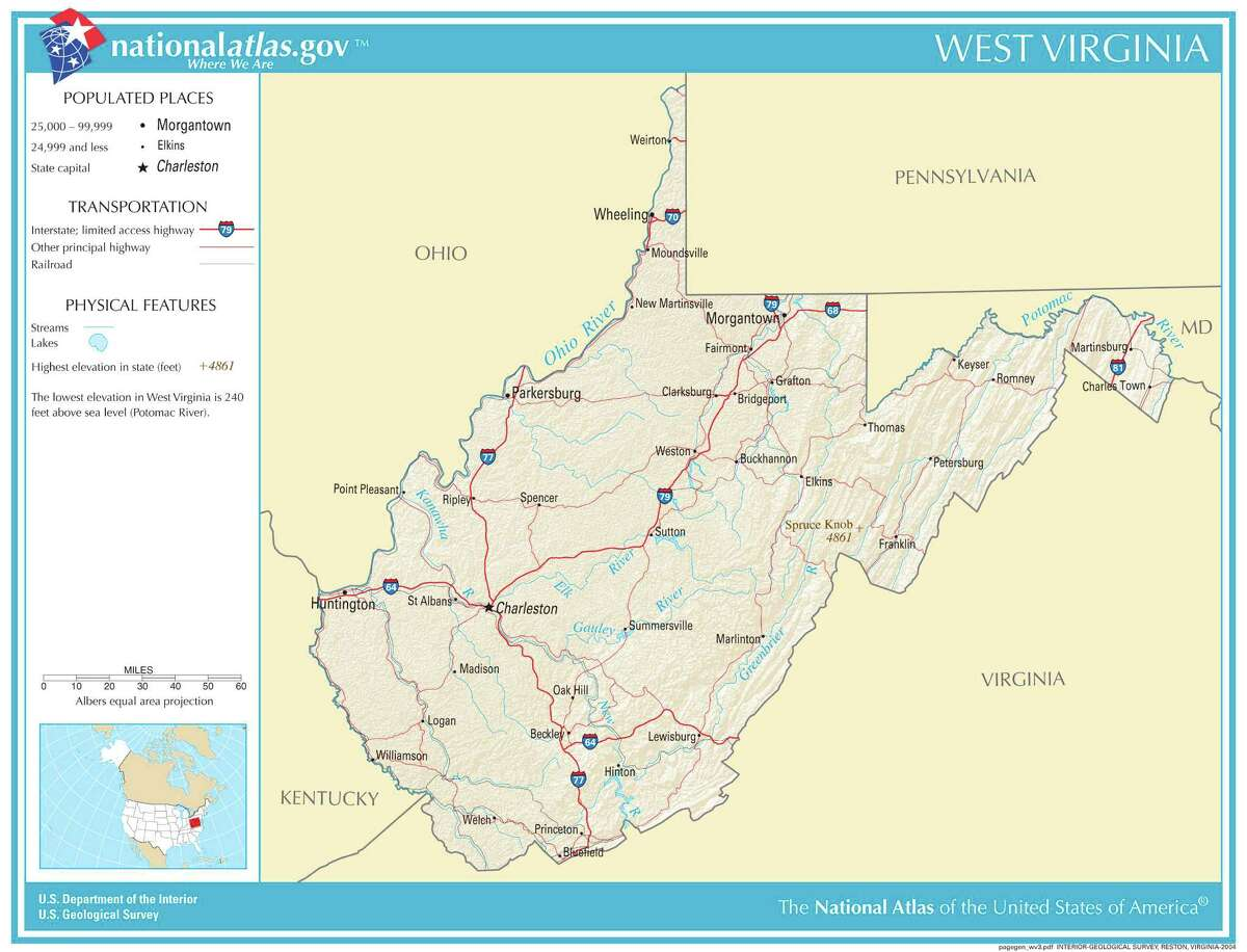 Virginia Overall rank: 10 Affordability rank: 15 Quality of life rank: 14 Health care rank: 31 According to:Wallet Hub Map credit: United States Geological Survey