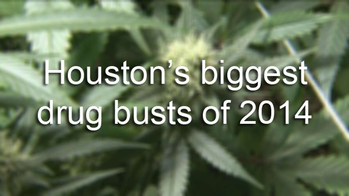 These are the biggest Houston-area drug busts of 2014.