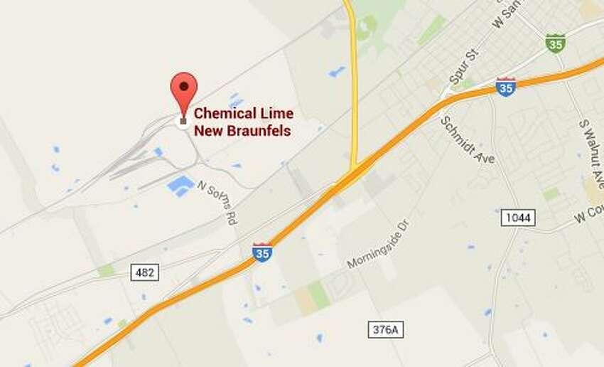 9. Lhoist North America of Texas LTD County: Comal NOx: 356 VOC: 5 Total: 361
