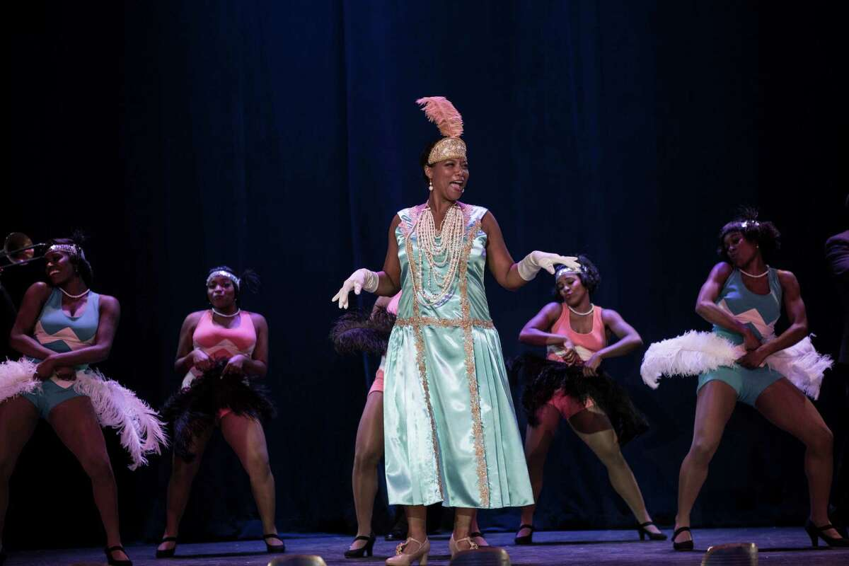 In this image released by HBO, Queen Latifah portrays Bessie Smith in a scene from