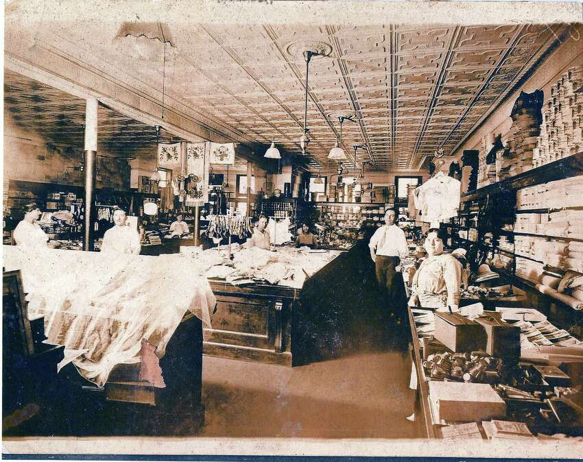 The former Grand 5-10-25 Cent Store on 1232 State St. in Bridgeport was owned and operated by a man named Adolph Greenberg circa 1920.