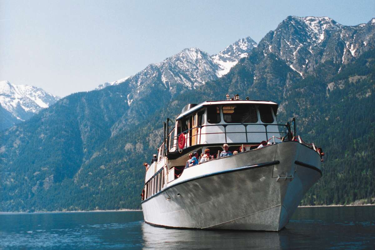 A cruise up Lake Chelan ends at Stehekin in the North Cascades National Park Complex. The hamlet is isolated and quiet.